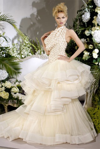 Haute couture wedding dress designs are more than ordinary dress